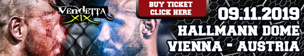 Vendetta XIX Tickets mma k1